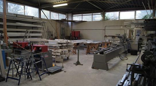 Fabricage- fabriek